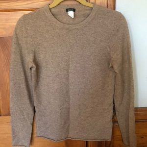 JCREW 100% cashmere crew neck sweater Small S